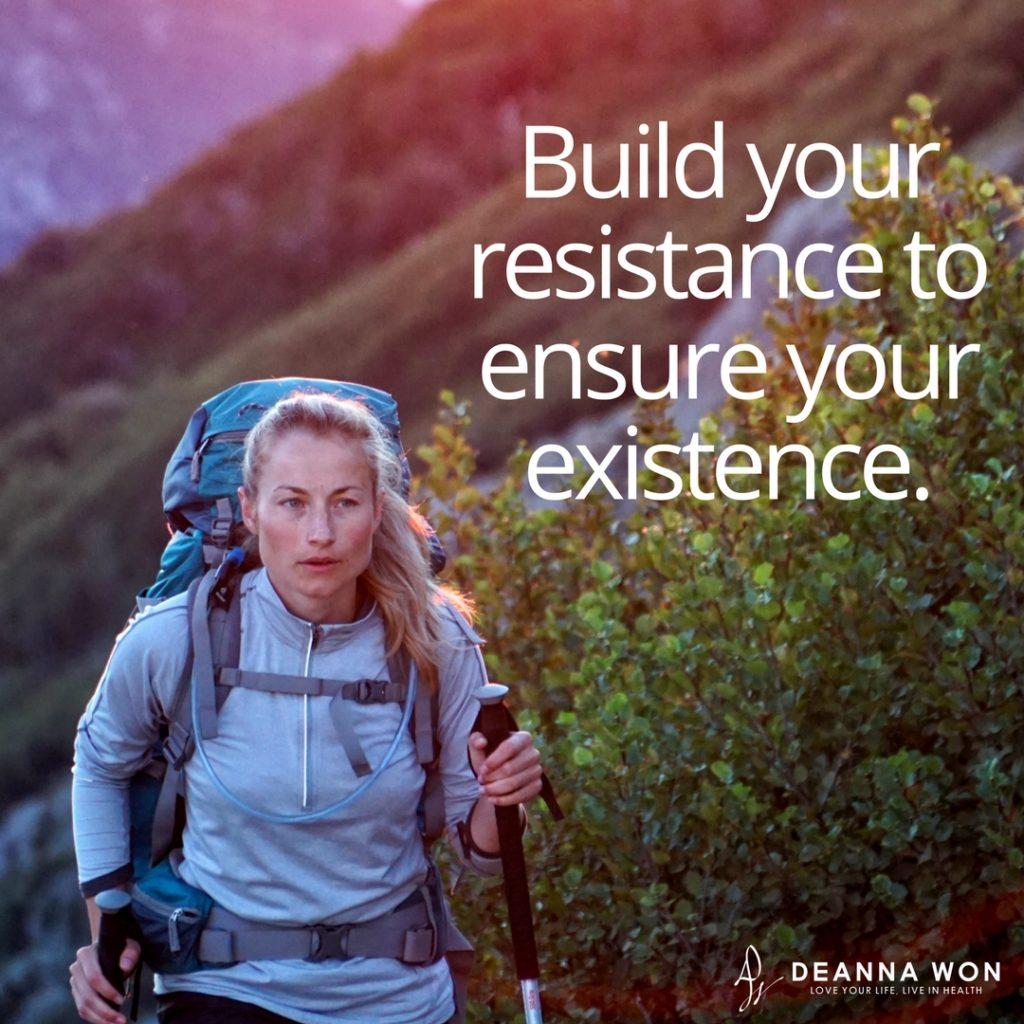Build immune resistance