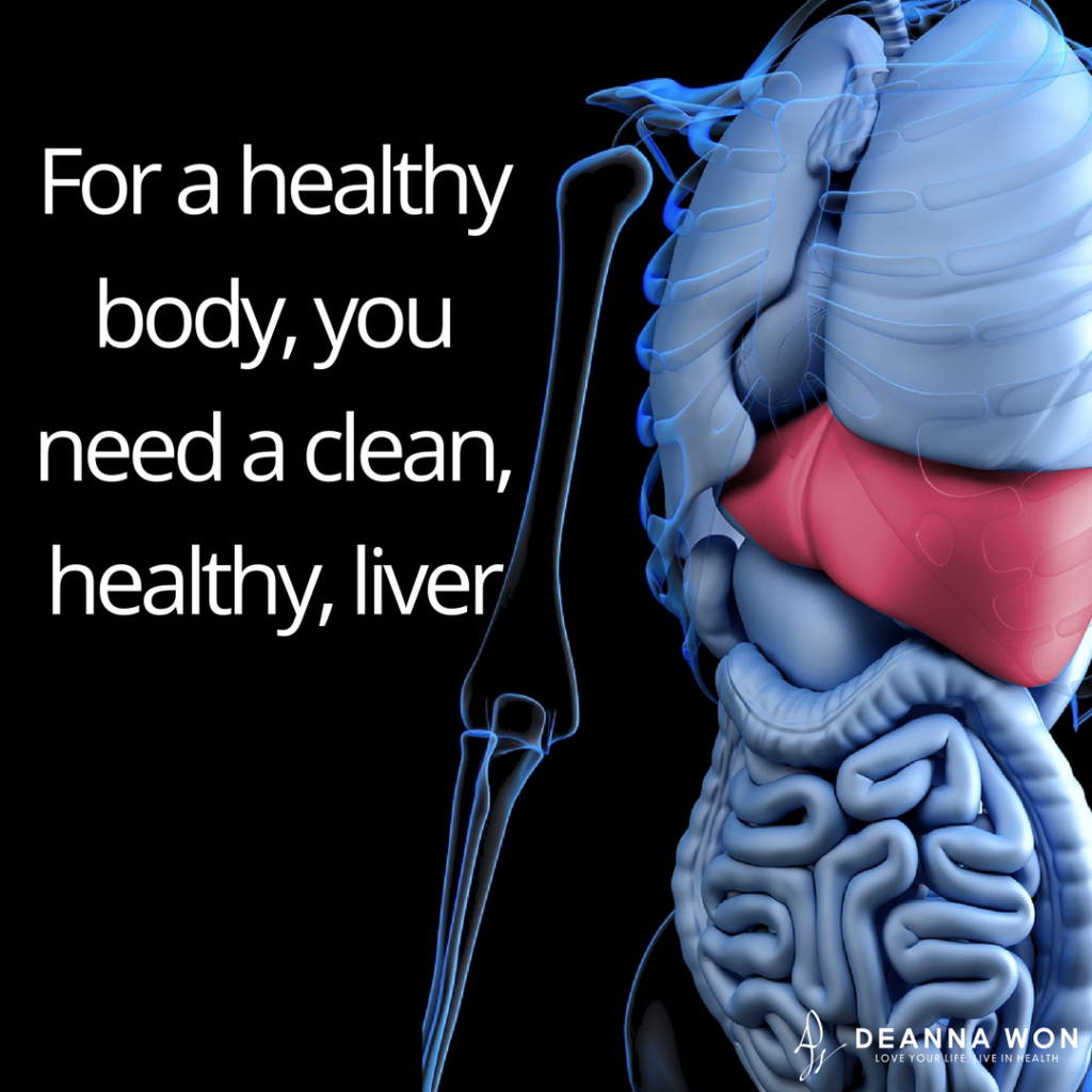 For A Healthy Body You Need A Clean Healthy Liver Keynotes To